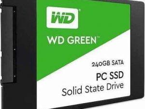 Σκληρός δίσκος Western Digital SSD Sata GREEN 2.5″ SATA3 480GB 500/400