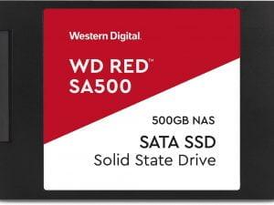 Σκληρός δίσκος Western Digital SSD Sata RED 2.5″ 3D NAND SATA3 500GB 560/530