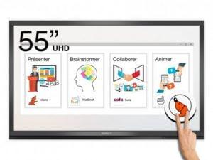 "SpeechiTouch 55"" Διαδραστική οθόνη UHD 4K- Android- Pro Edition"