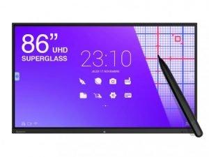 "SpeechiTouch 86"" Διαδραστική οθόνη UHD 4K Superglass- Android"